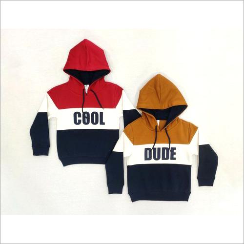 Boys Hooded Fleece Sweatshirts