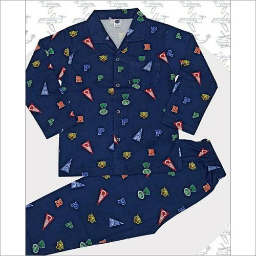 Boys full sleeves night suit