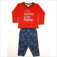 Girl's Cotton Pyjama Sets