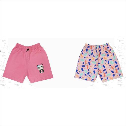 Girl's Cotton Shorts
