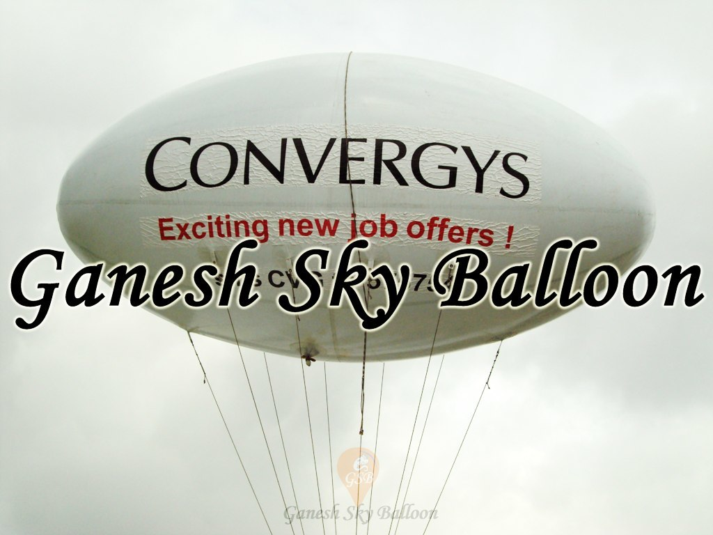 Election Advertising Balloon