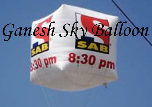 Election Advertising Sky Balloon