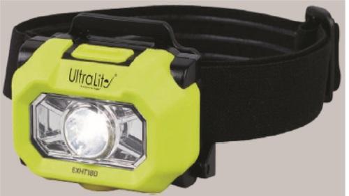 Intrinsically Safe LED Head LAMP