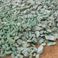 Pink And Green Crushed Aggregate For Landscape Decoration