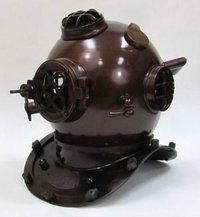 Antique Finish Nautical Diver Helmet