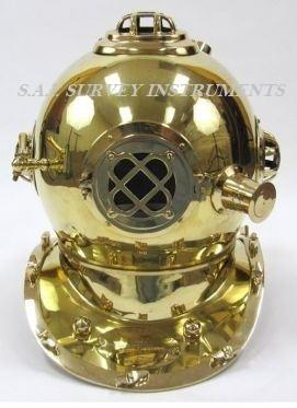 US Navy Mark IV Divers Helmet