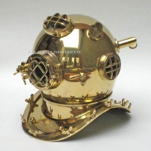 Mark V Brass Diving Helmet