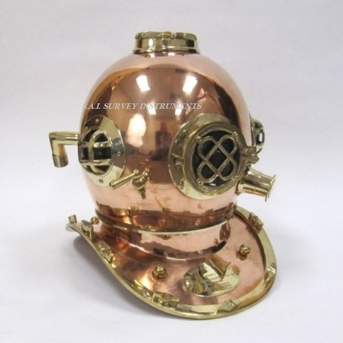 Copper and Brass Divers Helmet Mark Iv Special Edition