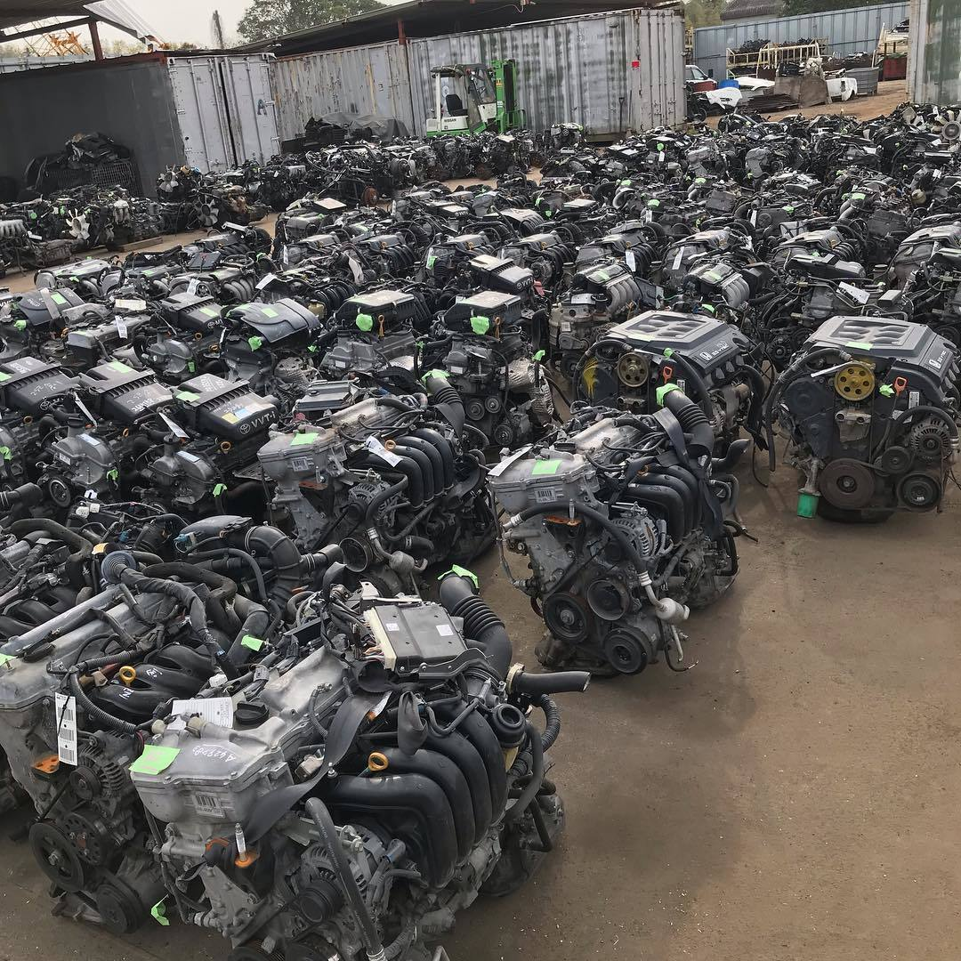 Japanese used diesel engine 4D56 4D56T in high quality