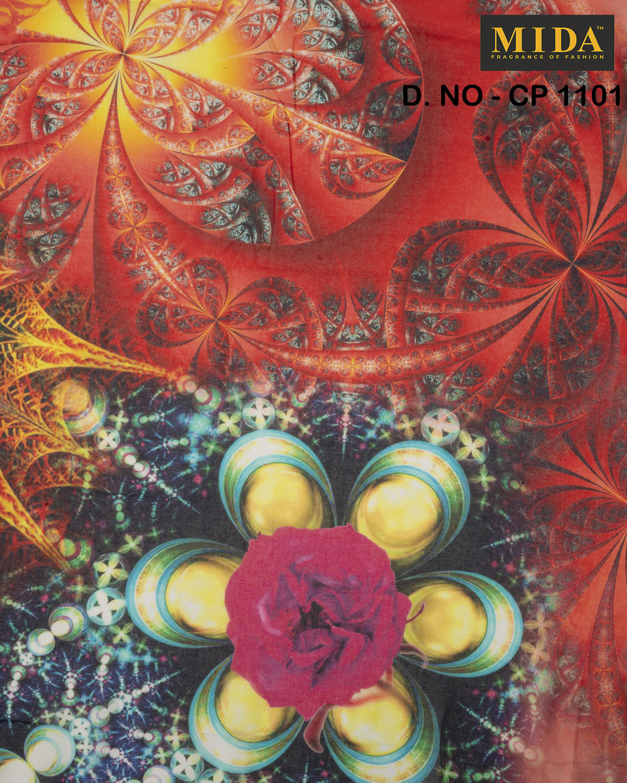 Printed Cotton Voile Fabrics