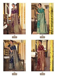Anshika Party Wear Soft Art Silk Sarees