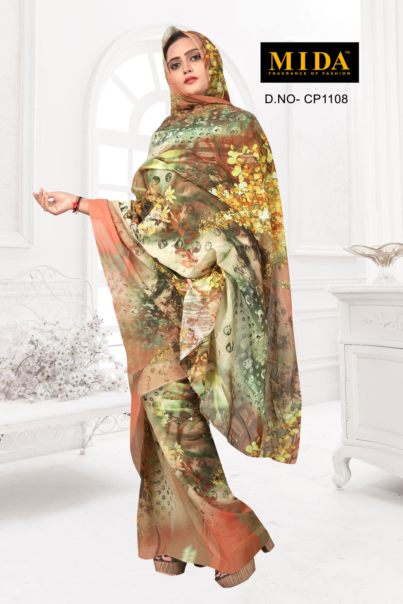 Printed Voile