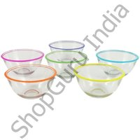 Just Jelly 6 Pcs Decorative Glass Set With Spoon
