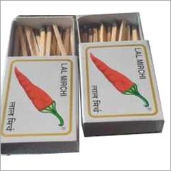 Lal Mirchi Match Box