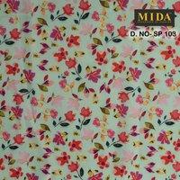 Printed Satin Fabric