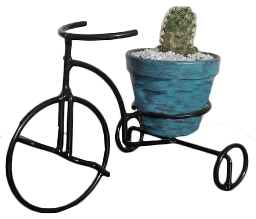 Iron Pot Stand Try Rickshaw