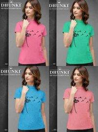 Dhunki Designer Ladies T-Shirt