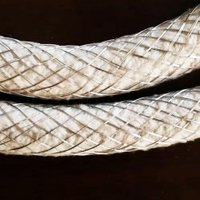 Ceramic Fiber Rope With Inconel Wire Jacketed