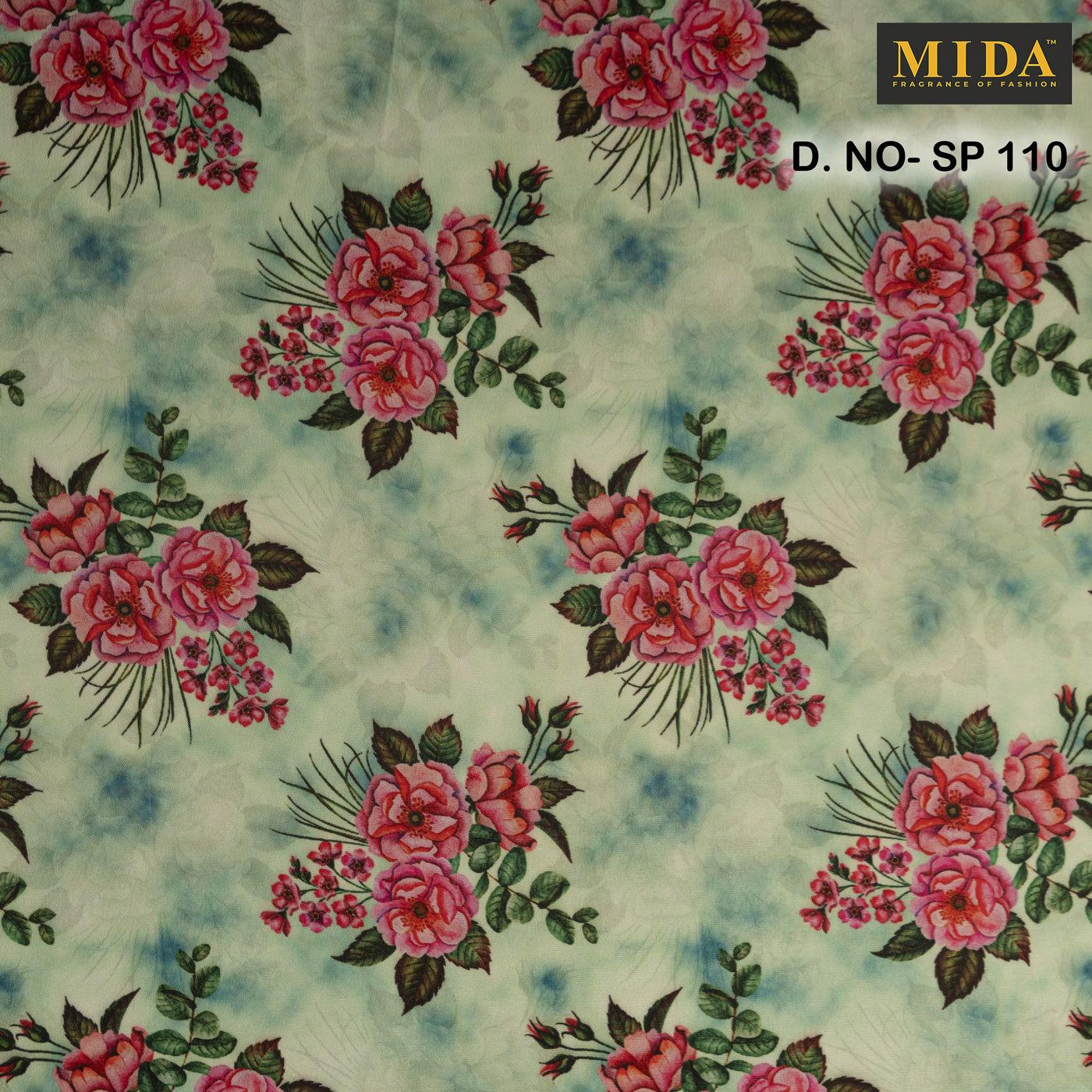 Premium Printed Satin Fabrics