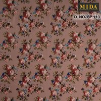 Premium Digital Printed Satin Fabrics