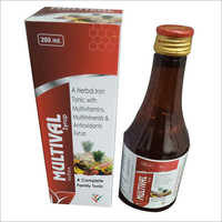 200 ml Herbal Iron Tonic With Multivitamins Multiminerals And Antioxidants Syrup