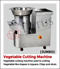 Vegetable Cutting Jumbo Machine
