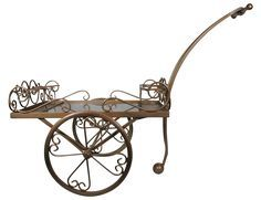Iron Decorative Flower Pot Stand