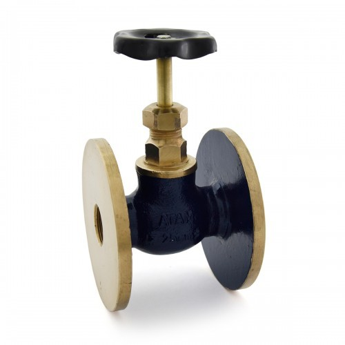 Bronze Globe Valve (Flanged End)