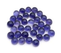 8mm Iolite Round Cabochon Loose Gemstones