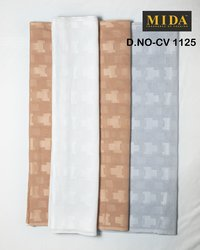 Best Premium African men clothes fabrics  Jacquard cotton voile fabric
