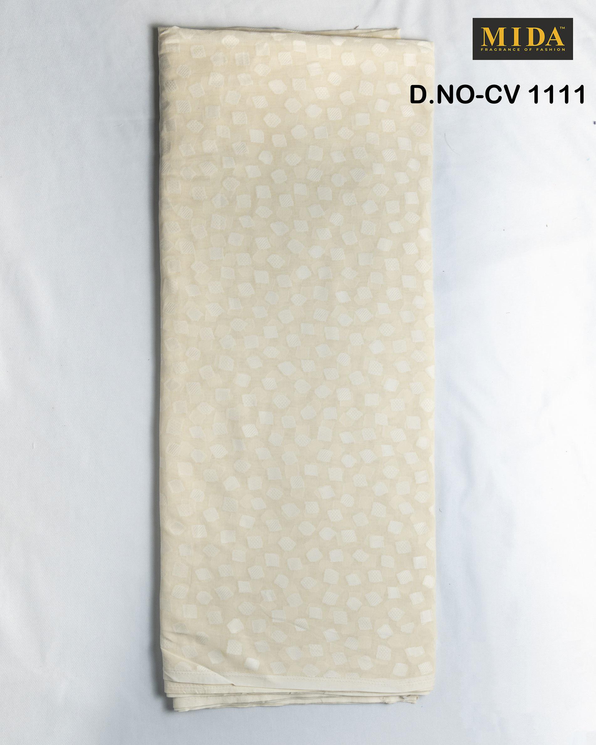 Best Quality African men clothes fabrics  Jacquard cotton voile fabric