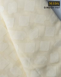 Premium African men clothes fabrics  Jacquard cotton voile fabric
