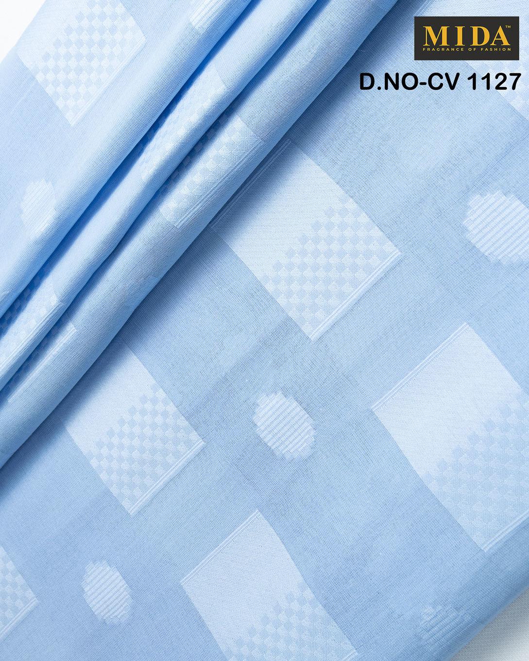 Premium Quality Box  Jacquard Cotton Voile Fabric