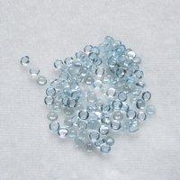 3mm Sky Blue Topaz Round Cabochon Loose Gemstones