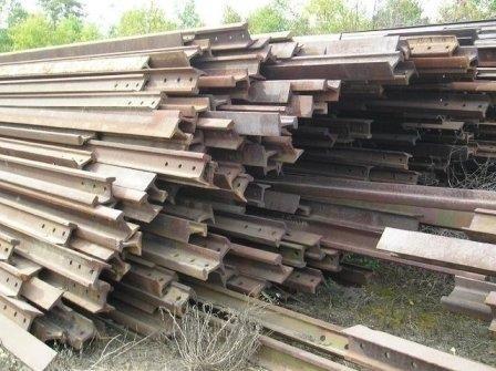 Used Rails And Hms 1/2 Metals Scraps