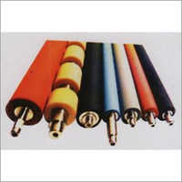 Industrial Multicolor Rubber Roller