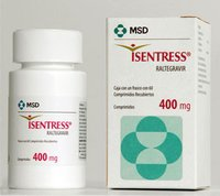 Isentress 400mg Tablets