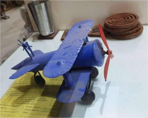 Decorative Iron Helicopter