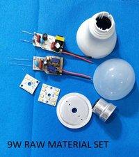 9W LED Bulb Raw Material