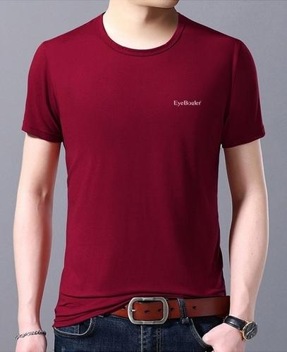 Men Round Neck Half Sleeve T Shirt