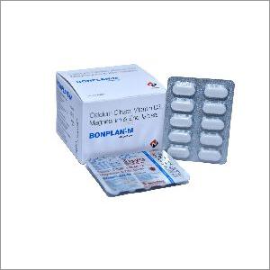 Calcium Citrate - Vitamin D3 - Magnesium & Zinc Sulphate Tablets