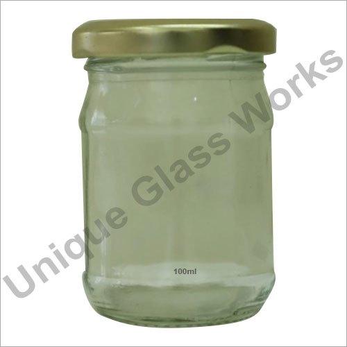 100 ml Mushroom Glass Jars