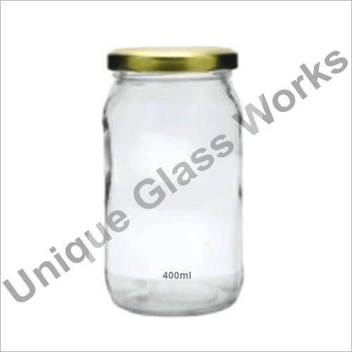 400 ml Clear Glass Jars