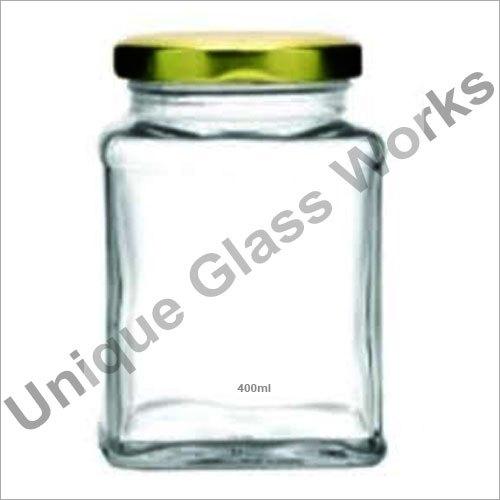 400 ml ITC Square Glass Jars