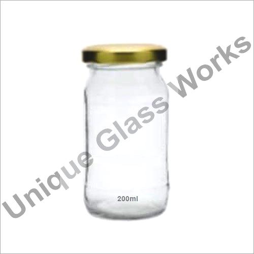 200 ml Round Glass Jars