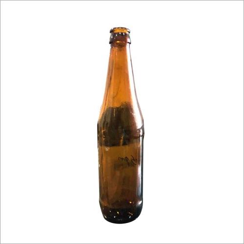 650 ML Amber Beer Glass Bottle