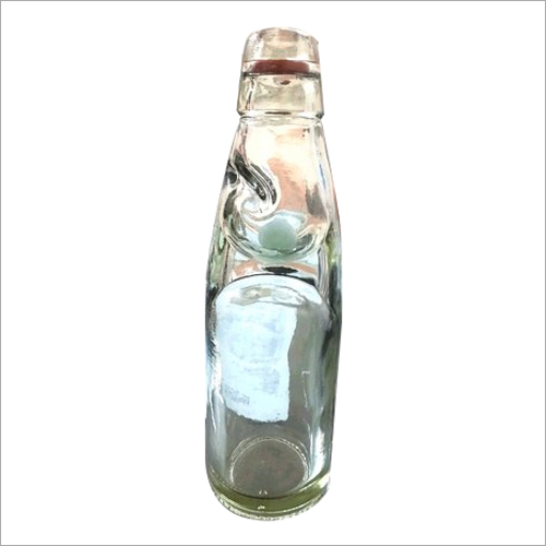 White 200ml Codd Goli Soda Glass Bottles