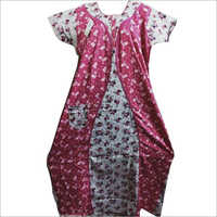 Ladies Floral Printed Nightgown