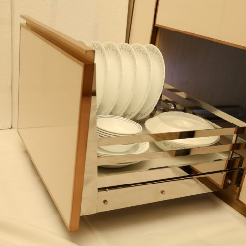 Kitchen Basket Grain Trolley