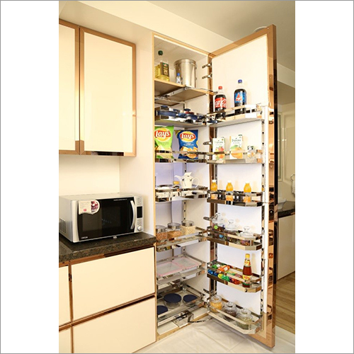 Kitchen Basket Pantry Unit